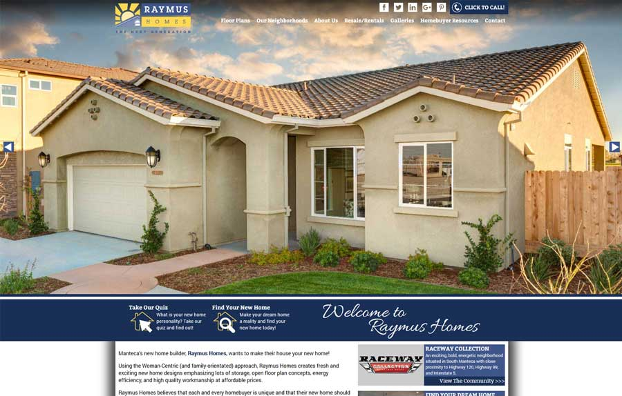 Raymus Homes Case Study
