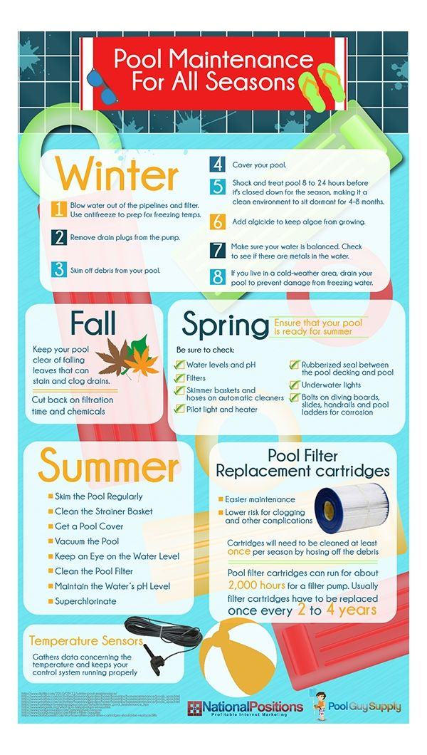 Cleaning Your Pool in the Offseason