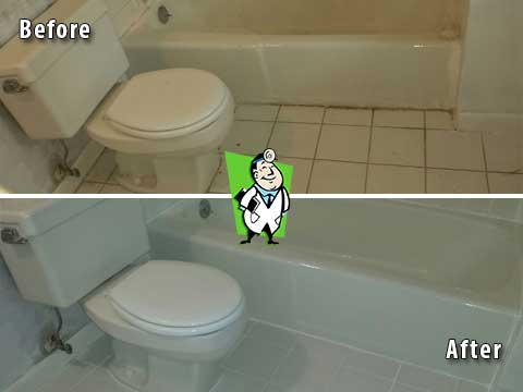 Before and After Tile and Grout Cleaning Photos | Grout Medic Denver