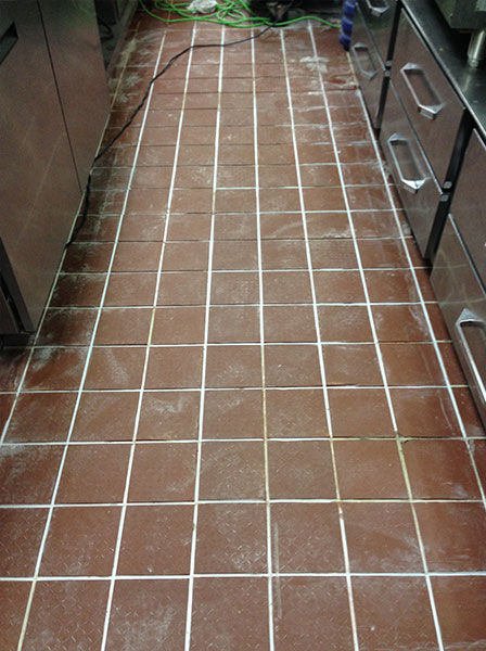 Cheddar's Cafe Grout Medic Project - In Progress 02