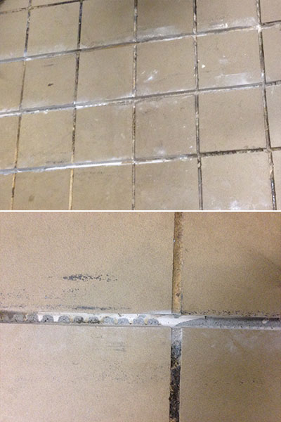 Hotel Monaco Grout Medic Project - Clear Grout Lines