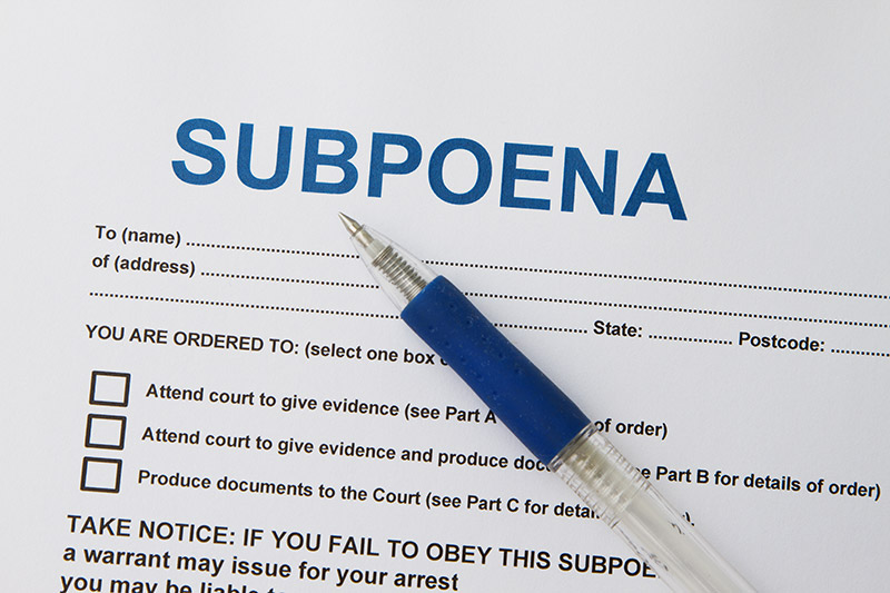 Servers and Subpoenas