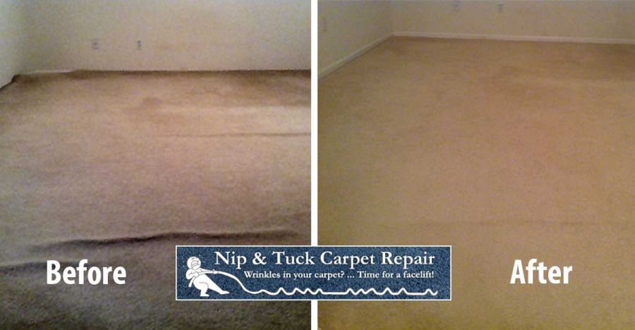 Carpet Repair & Stretching Photos, Before & Afters, Salt Lake City