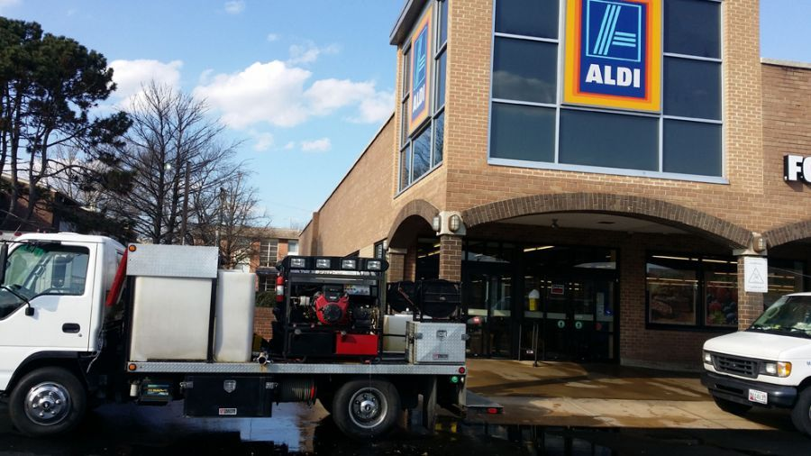 Commercial Pressure Washing, Commercial Power Washing in VA, MD, DC