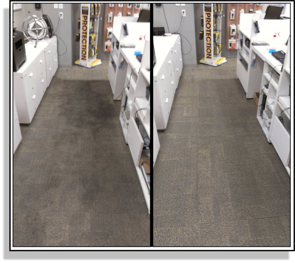 What our Commercial Restoration Carpet Cleaning can do.