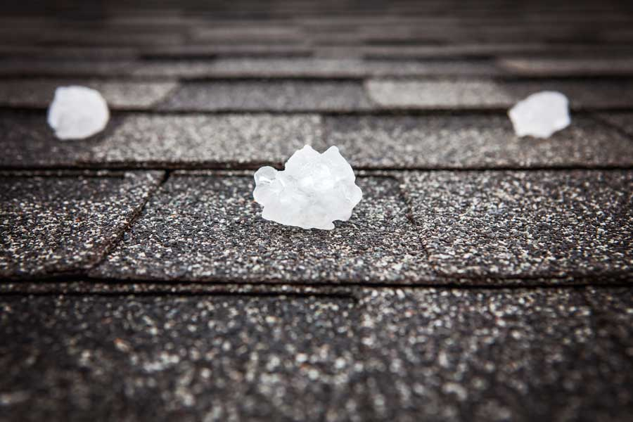 How Hail Affects Your Roof