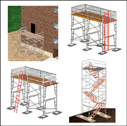 Scaffolding Rental and Safety, Scaffolding Use and Tips