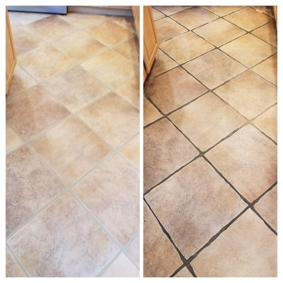 Recent tile and grout project