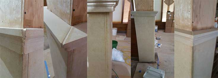 Limestone Column Repair