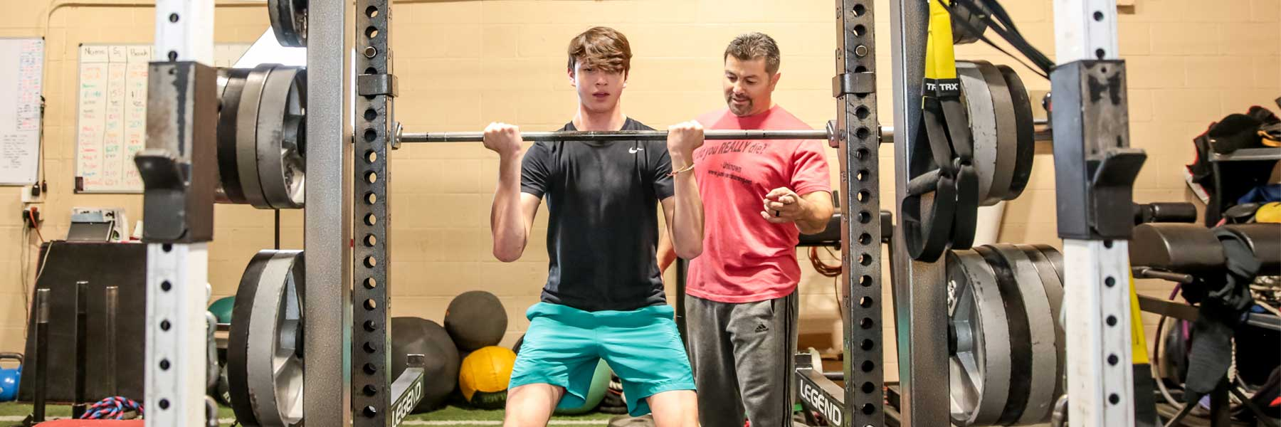Power Lifting, Youth Training
